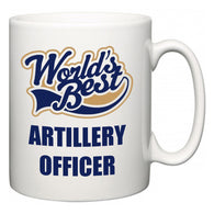 World's Best Artillery Officer  Mug