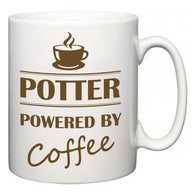 Potter Powered by Coffee  Mug