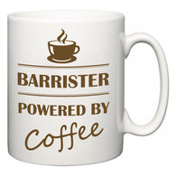 Barrister Powered by Coffee  Mug