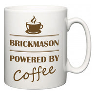 Brickmason Powered by Coffee  Mug