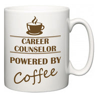 Career Counselor Powered by Coffee  Mug