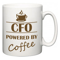 CFO Powered by Coffee  Mug