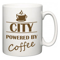 City Powered by Coffee  Mug