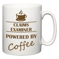 Claims Examiner Powered by Coffee  Mug