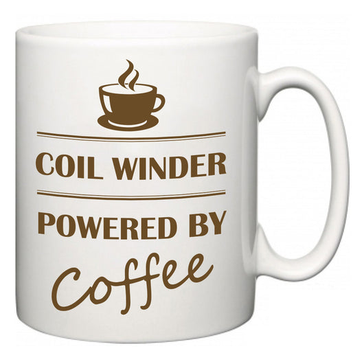 Coil Winder Powered by Coffee  Mug