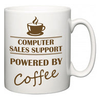 Computer sales support Powered by Coffee  Mug