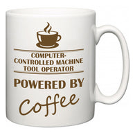 Computer-Controlled Machine Tool Operator Powered by Coffee  Mug