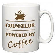 Counselor Powered by Coffee  Mug