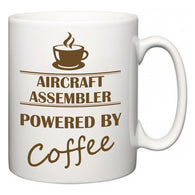 Aircraft Assembler Powered by Coffee  Mug