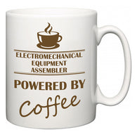 Electromechanical Equipment Assembler Powered by Coffee  Mug