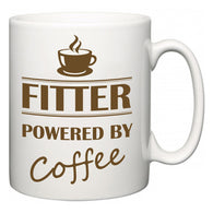 Fitter Powered by Coffee  Mug