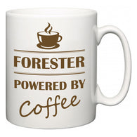 Forester Powered by Coffee  Mug