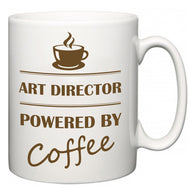 Art Director Powered by Coffee  Mug