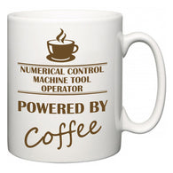 Numerical Control Machine Tool Operator Powered by Coffee  Mug