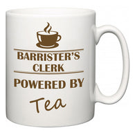 Barrister's clerk Powered by Tea  Mug
