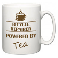 Bicycle Repairer Powered by Tea  Mug