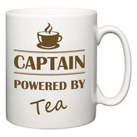 Captain Powered by Tea  Mug