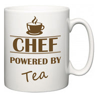 Chef Powered by Tea  Mug