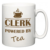 Clerk Powered by Tea  Mug