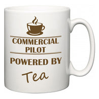 Commercial Pilot Powered by Tea  Mug