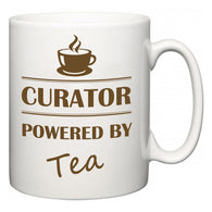 Curator Powered by Tea  Mug