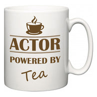 Actor Powered by Tea  Mug