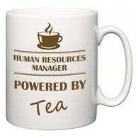 Human Resources Manager Powered by Tea  Mug