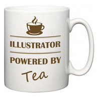 Illustrator Powered by Tea  Mug