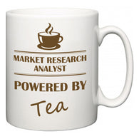 Market Research Analyst Powered by Tea  Mug