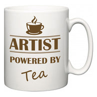 Artist Powered by Tea  Mug