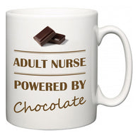 Adult nurse Powered by Chocolate  Mug