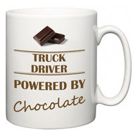 Truck Driver Powered by Chocolate  Mug