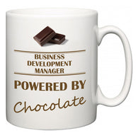 Business Development Manager Powered by Chocolate  Mug