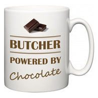 Butcher Powered by Chocolate  Mug