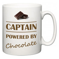 Captain Powered by Chocolate  Mug
