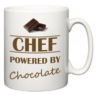 Chef Powered by Chocolate  Mug