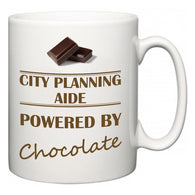 City Planning Aide Powered by Chocolate  Mug