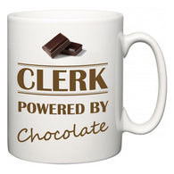 Clerk Powered by Chocolate  Mug