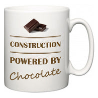 Construction Powered by Chocolate  Mug