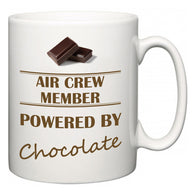 Air Crew Member Powered by Chocolate  Mug