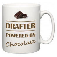 Drafter Powered by Chocolate  Mug