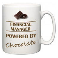 Financial Manager Powered by Chocolate  Mug