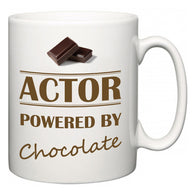 Actor Powered by Chocolate  Mug