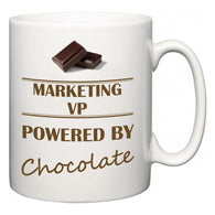 Marketing VP Powered by Chocolate  Mug