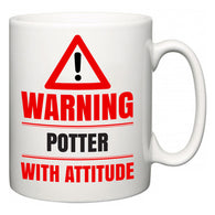 Warning Potter with Attitude  Mug