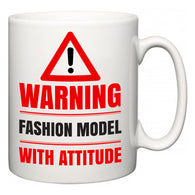 Warning Fashion Model with Attitude  Mug