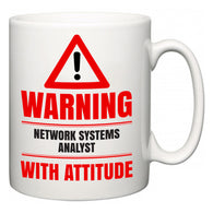 Warning Network Systems Analyst with Attitude  Mug