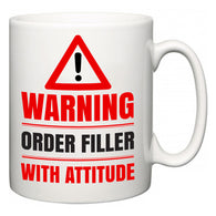 Warning Order Filler with Attitude  Mug