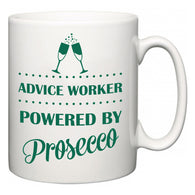Advice worker Powered by Prosecco  Mug