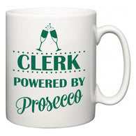Clerk Powered by Prosecco  Mug